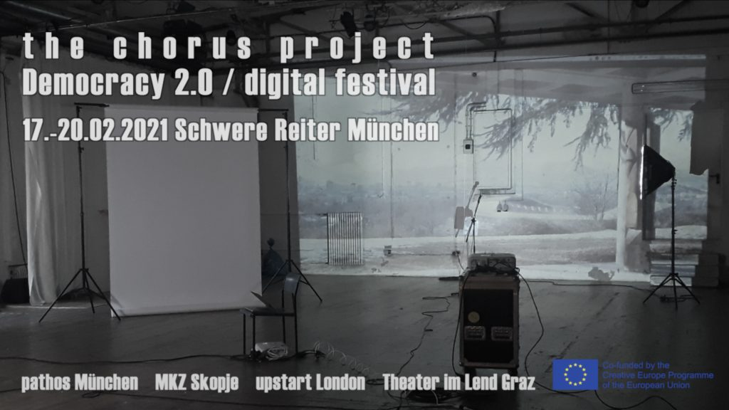 "The Chorus Project // Digital Festival ""Democracy 2.0"""