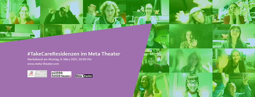 6 #TakeCareResidenzen @ Meta-Theater